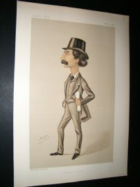 Vanity Fair Print 1888 Edward Hare Pickersgill